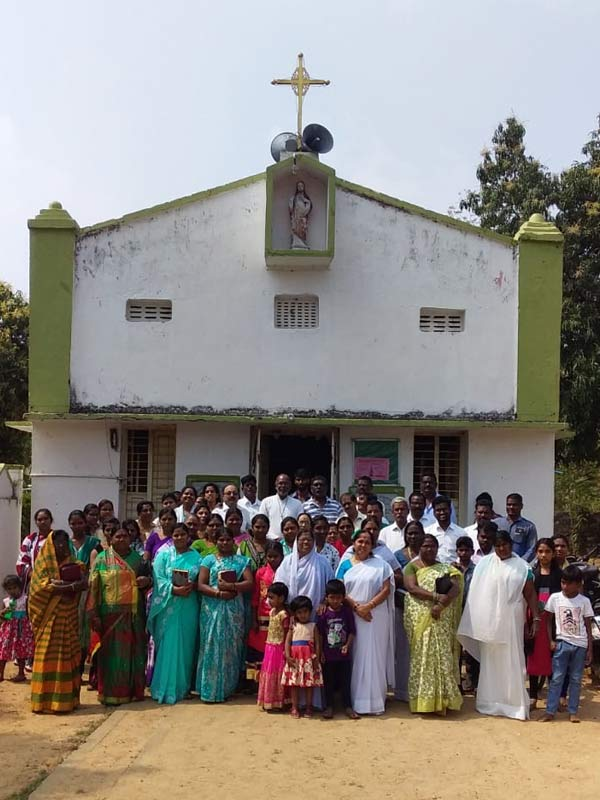 christ the king catholic church chintalavalasa visakhapatnam